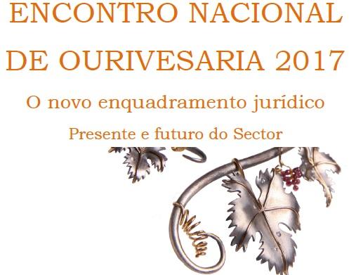 ENCONTRO NACIONAL DO SETOR DE OURIVESARIA