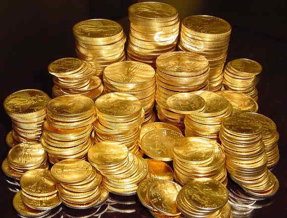 Lista de moedas de ouro isentas de IVA